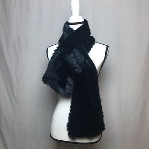 Banana Republic Faux Fur Scarf